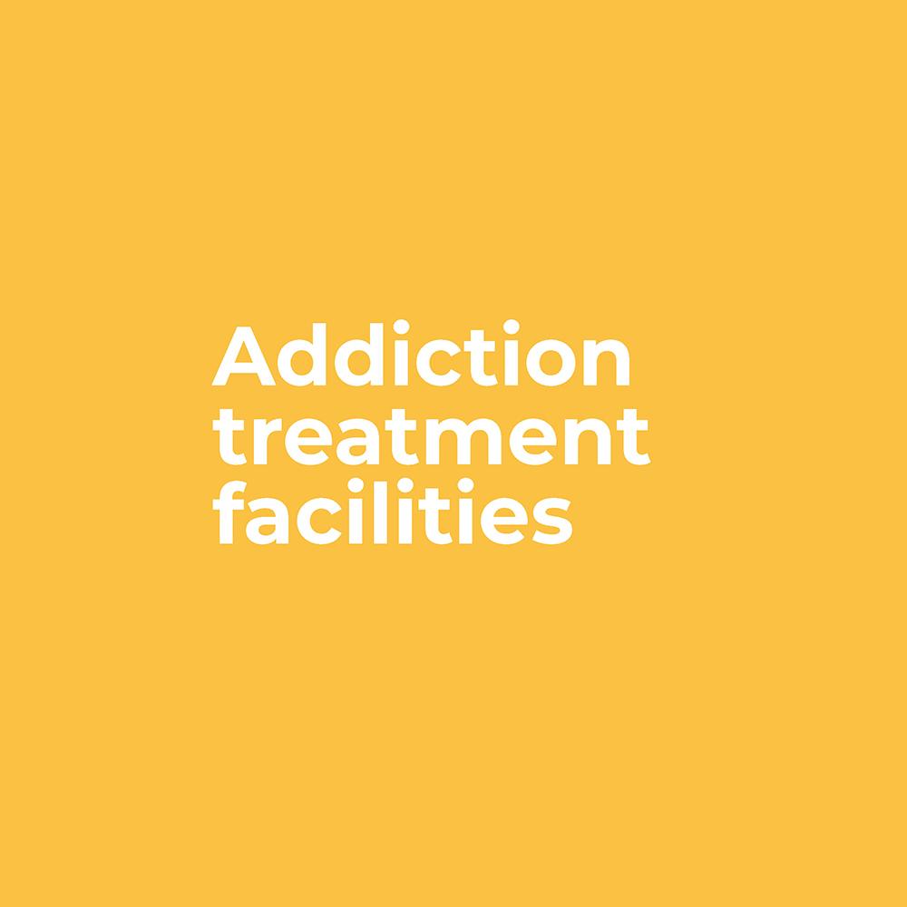 Core Behaviours - Addiction treatment facilities