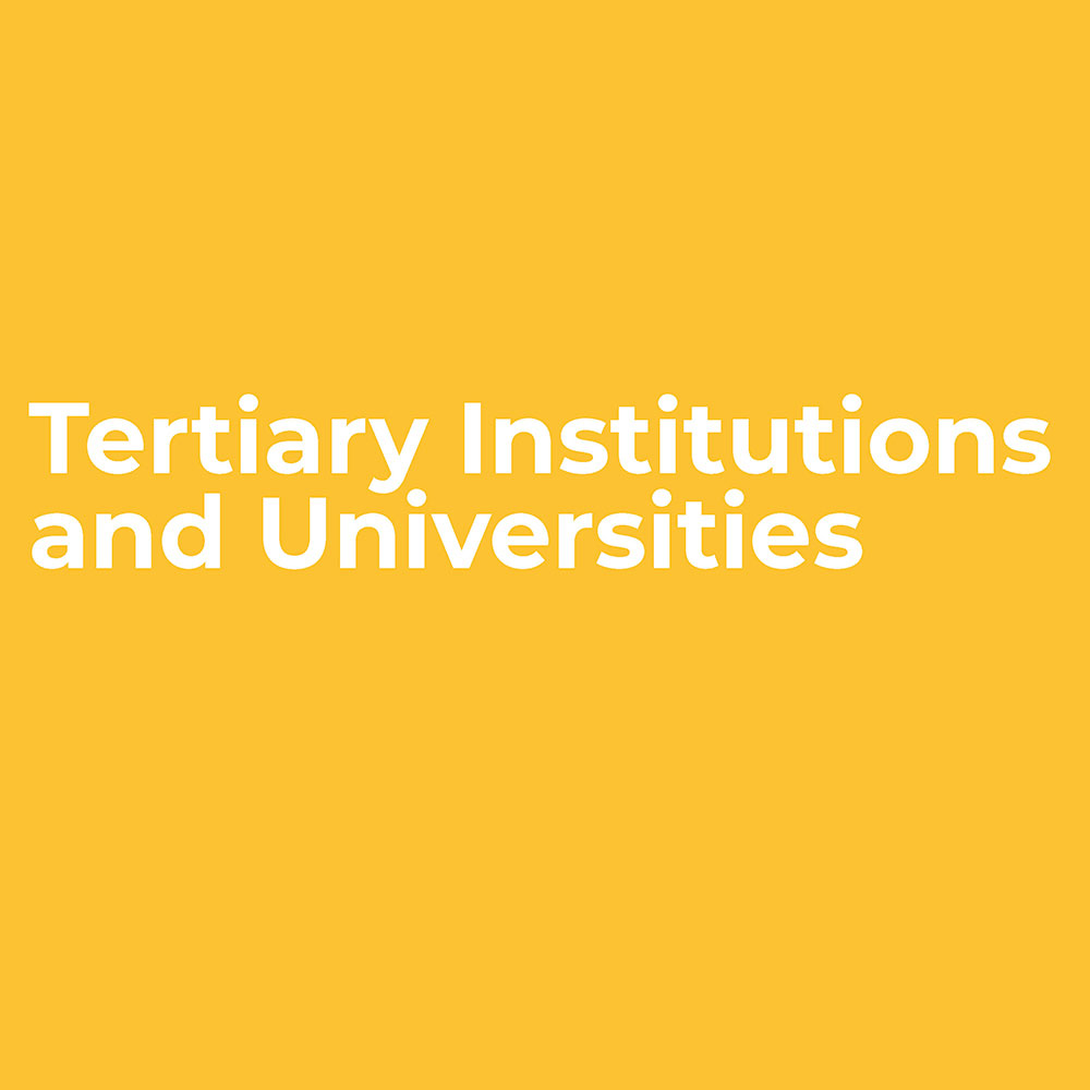Tertiary Institutions and Universities