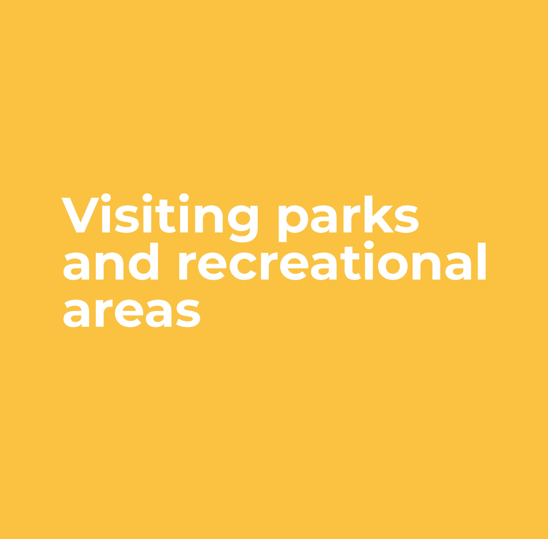 Parks and Recreation Facilities